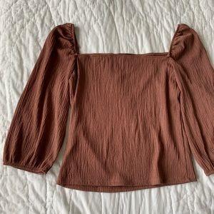 Dynamite tan blouse